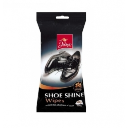 Jump Pack Of 40 All Colour Shoe Bag Boot Shine Cleaning Polish Wipes For Leather