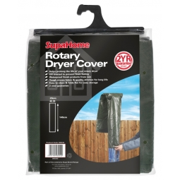 SupaHome Rotary Washing Line Dryer Cover UV Treated Dark Green 145cm x 29cm