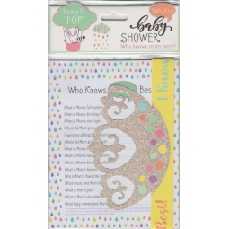 Who Knows Mummy Best Baby Shower Party Game Sheets 12 Player Winning Crown