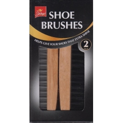 Jump - Set Of 2 Shoe Boot Cleaning Brushes For Leather Shoes Gives Extra Shine