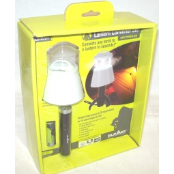 Summit Camping Lantern Converter Set Easy Torch To LED Camp Lantern Tent Hiking