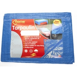 6ft x 4ft TARPAULIN TARP LIGHTWEIGHT WATERPROOF GROUND COVER SHEET CAMPING TENT