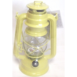 Yellow Lumineo Warm White LED Battery Camping Garden Lantern Indoor Outdoor