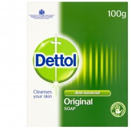 Dettol Antibacterial Original Soap Bar Hand Wash Protects Against Bacteria 100g