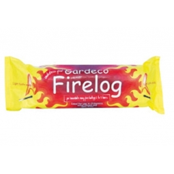 Gardeco Smokeless Fuel Firelog Firelighter For Chimeneas Stoves Open Fires 1kg