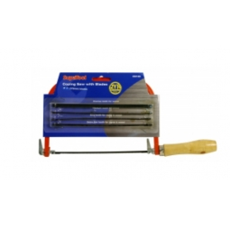 Supatool Coping Saw With 4 blades, wood and metal saw, ideal for craft work