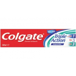 Colgate Toothpaste Cavity Protection White Teeth Fresh Breath 100ml