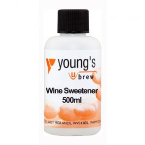 Youngs Brew Home Brewing Dry Wine Sweetener For Finished Wine - 500ML