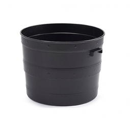 Small Blacksmith Barrel Planter Plant Pot Tub Indoor Outdoor With Handles 35cm