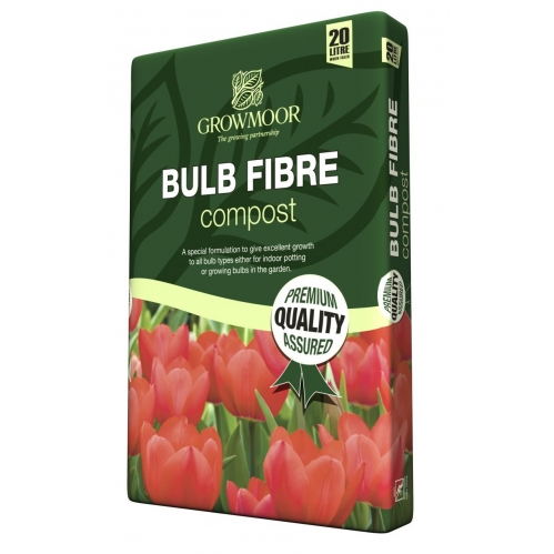 Growmoor Bulb Fibre Potting Compost Garden Growing Media 20L