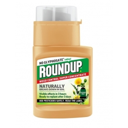 Roundup Weedkiller Control Concentrate No Glyphosate Naturally Breaks Down 140ml