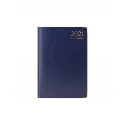Blue 2021 Week To View Diary