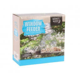 Clear Bird Window Feeder