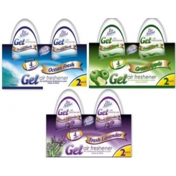 PanAroma 6 x Gel Air Fresheners - Lavender Apple Ocean, Room Freshener