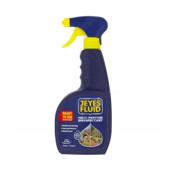 Jeyes Fluid Multi-Purpose Outdoor Disinfectant Cleaner Kill 99.9% Germs 750ml