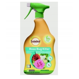 Solabiol Rose Bug Killer Ready To Use Organic Fast Acting Liquid Bug Killer 1L