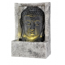 Upright Buddha Head Fountain