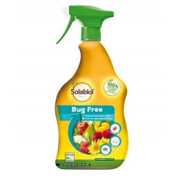 Solabiol Bug Free Ready To Use Organic Liquid Bug Killer For Fruit & Veg 1L
