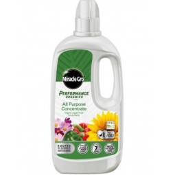 Miracle Gro Performance Organics All Purpose Liquid Concentrate Plant Food 1L