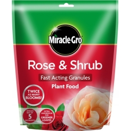 Miracle-Gro Rose & Shrub Plant Food Granules Extra Magnesium & Nutrients 750g