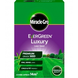 Miracle Gro Evergreen Luxury Lawn Seed Premium Grade Child Pet Friendly 420g