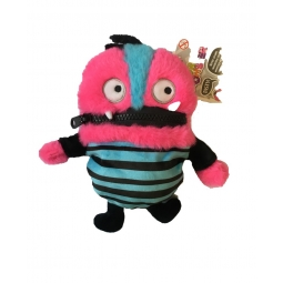 2 Eyed Pink Worry Monster