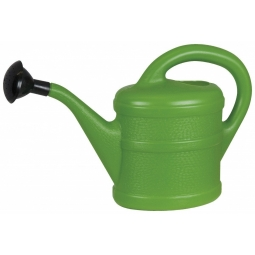 Green Wash Children's or Indoor Watering Can With Rose - 1 Litre - Green