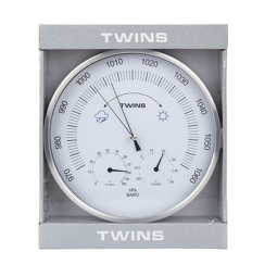 Weather Station Clock 25cm