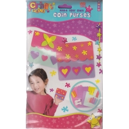 Craft Pals - Make Your Own Coin Purses - Suitable For 3 Years +
