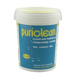 Puriclean Home Brew Equipment Cleans Purifies All Stored Water Systems 400g