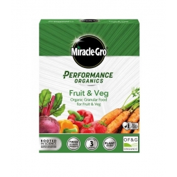 Miracle Gro Performance Organic Granular Plant Based Food For Fruit & Veg 1kg
