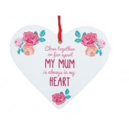 Hanging Heart Plaque
