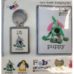 Card Holder Gift Set Puppy