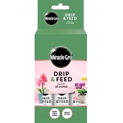 Miracle Gro Pack Of 3 Drip & Feed Liquid Orchid Plant Food 32ml Ready To Use